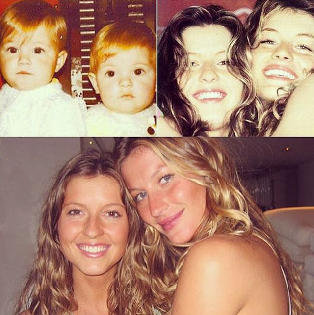Fun Fact: Gisele Has a Twin Sister, and She's Stunning