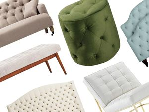 Our Favorite Tufted Furniture for a Sophisticated Space