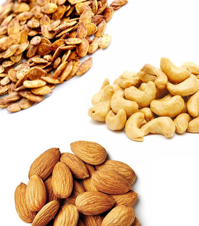 Roasted Pumpkin Seeds, Cashews, Almonds