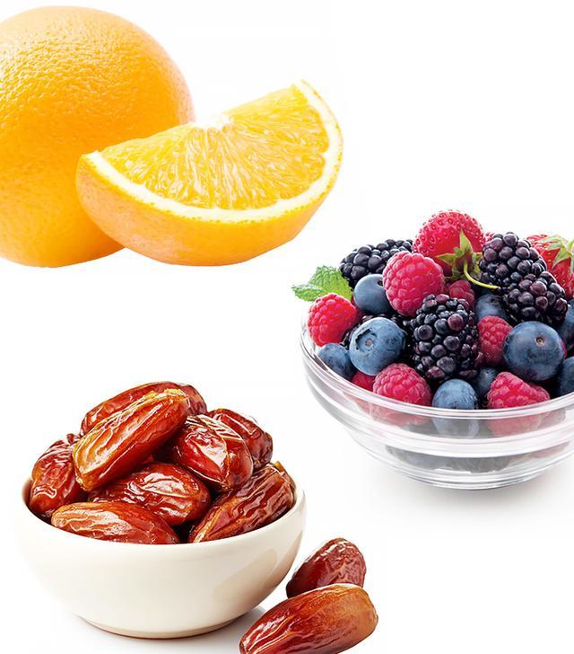 Berries, Oranges, and Dates