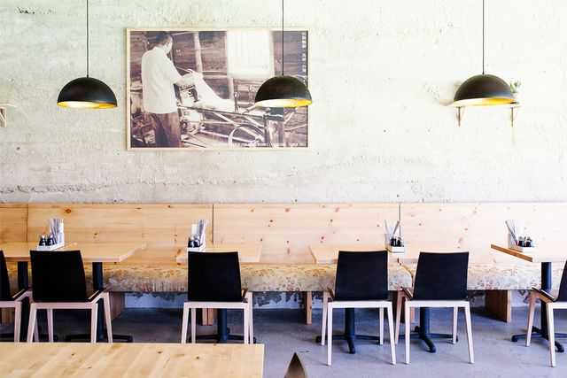 "Los Angeles chef Ludo Lefebvre of celebrated restaurants like Trois Mec and Petit Trois also loves the food in his home base: ""Los Angeles! Pine and Crane [pictured] for Asian and..."