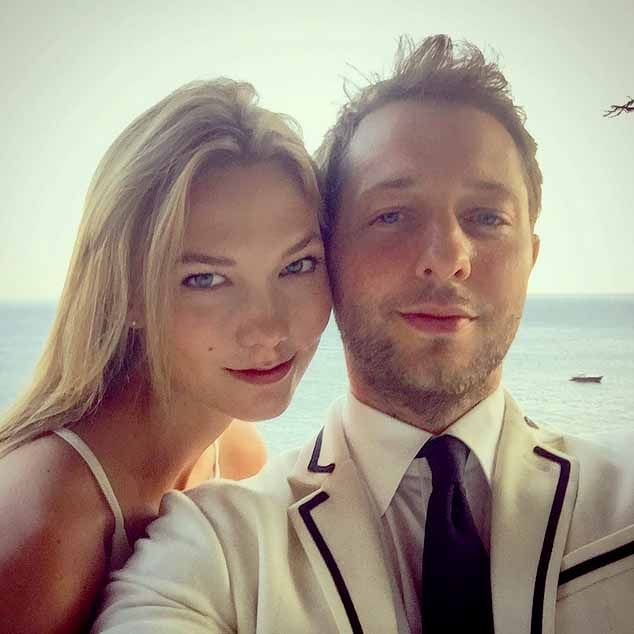 Derek Blasberg and Karlie Kloss in Positano