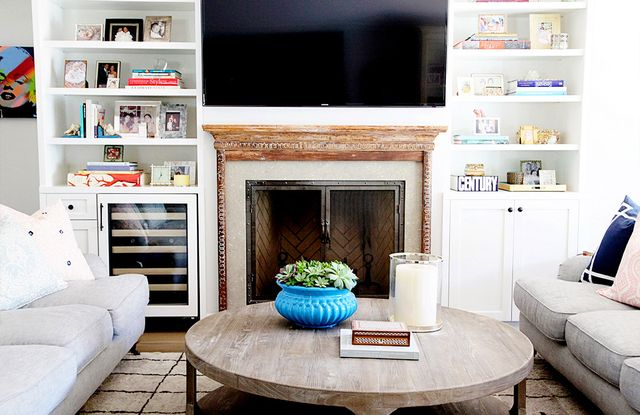 """Bookshelves are a great opportunity to display collections accrued over time and show personality. It's all about the balance where items and books are broken down into little..."