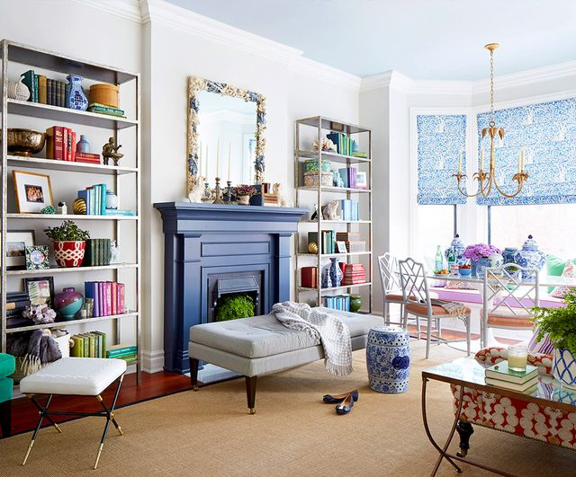 """The trick with shelving is to make it look perfectly imperfect. If it looks too precise, if there's no variation or whimsy, it will feel sterile and impersonal. So when I style shelves,..."