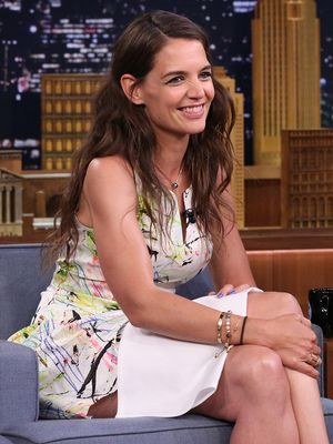 Hysterical: Katie Holmes Plays Say Anything With Jimmy Fallon