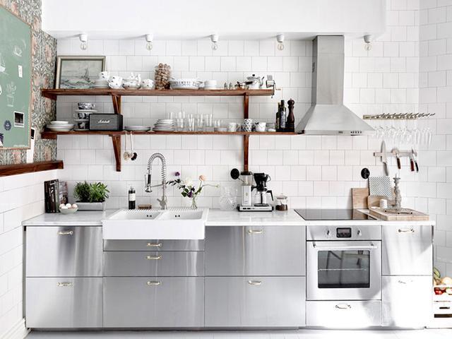 The Most Stylish Ikea Kitchens We 39 Ve Seen Mydomaine Au