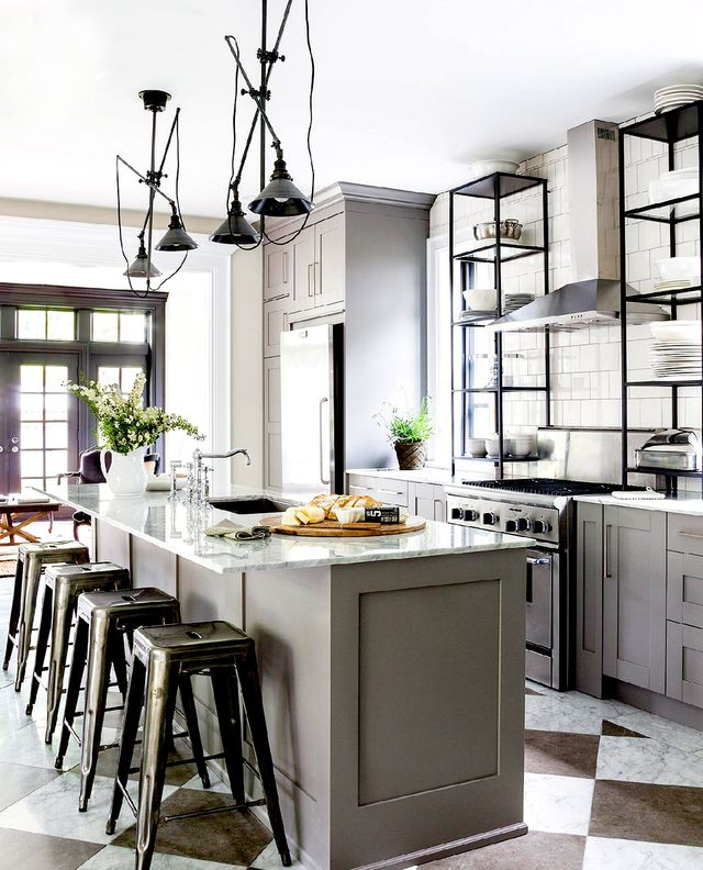 Kitchen Cabinets Or Open Shelving We Asked An Expert For: The Most Stylish IKEA Kitchens We've Seen