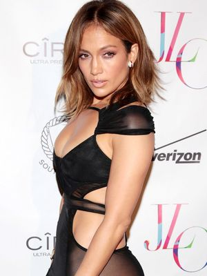 At 46, J.Lo Still Looks Insanely Good in the Naked Dress Trend