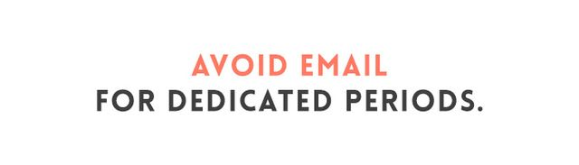 Though you may feel that your work is inextricably tied to email, being constantly connected to your inbox may impair your focus. Following 13 information workers (professional thinkers, you could...