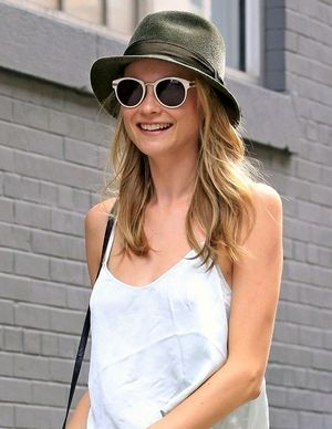 Model-Off-Duty: Snag Behati Prinsloo's Casual Camisole Look