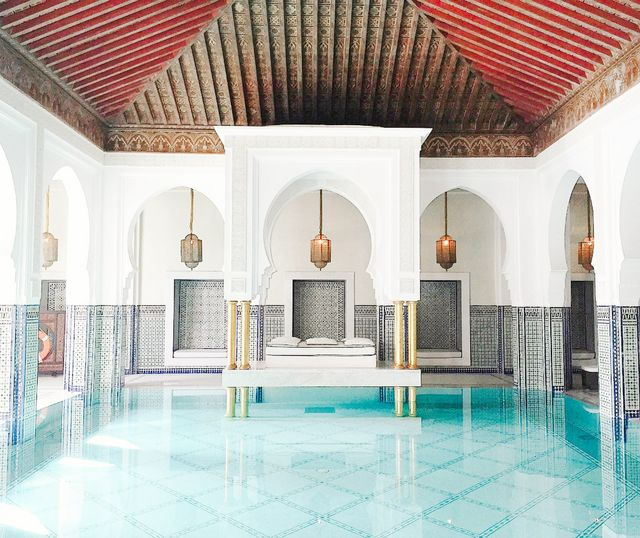 The Mamounia Spa at La Mamounia, Marrakech