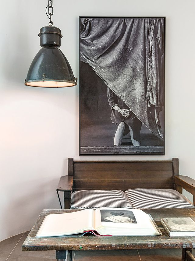 Head over to C Home for the full tour of Keaton's space.  Do you like her industrial-chic style? Tell us below.  Opening photo: Lisa Romerein