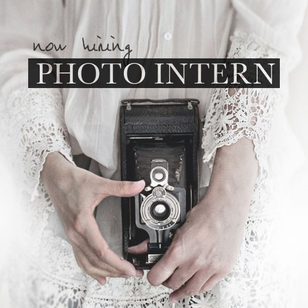 We're Hiring: Photo Intern