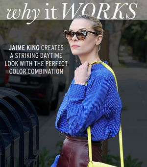 A Guide To Wearing Color With Jaime King