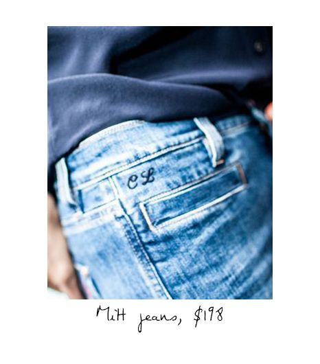 The Marrakesh High Rise Kick Flare Jeans ($198)