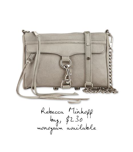 Rebecca Minkoff Mini M.A.C. Monogram Bag
