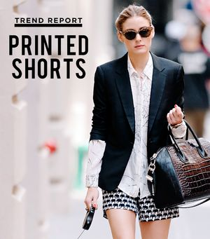 Trend Report: The Printed Shorts You Can Live In All Summer