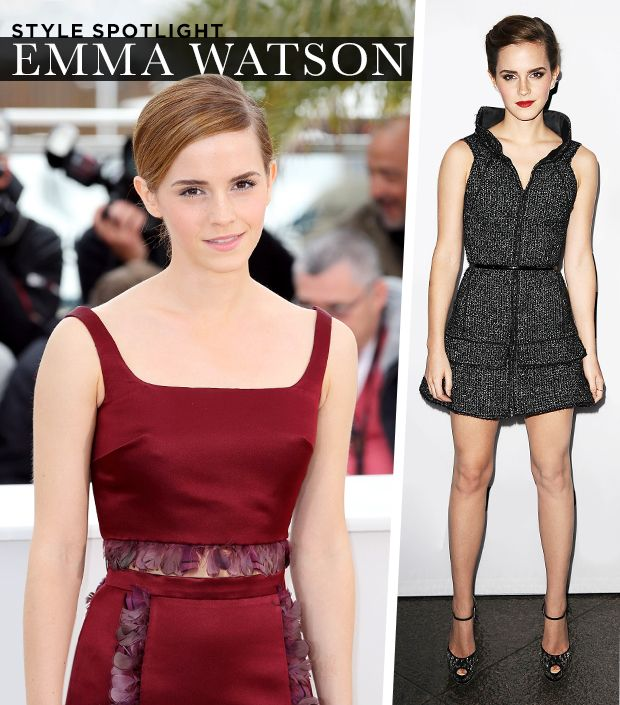How To Get Emma Watson's Sophisticated, Stylish Look