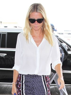Gwyneth Paltrow Proves That Pajama-Style Shorts Can Be Chic