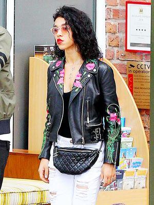 How FKA Twigs Makes Florals Edgy