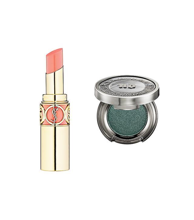 Peach and Emerald