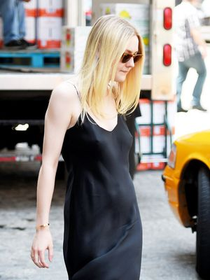 How to Wear Chic Summer Black, Courtesy of Dakota Fanning