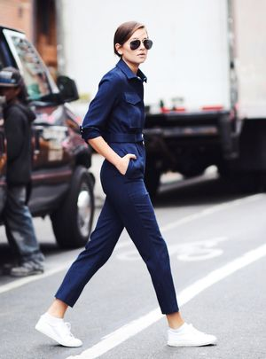 2 Casual Cool Ways to Wear a Utility Jumpsuit