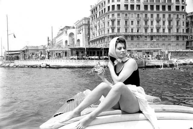 Italy circa 1961 is the perfect backdrop for none other than Sophia Loren.