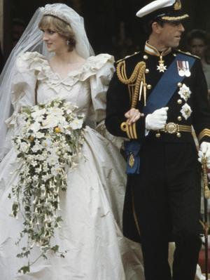 Never-Before-Seen Wedding Photos of Princess Diana Surface