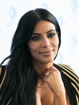 Kim Kardashian Is a Modern Cleopatra for Violet Grey