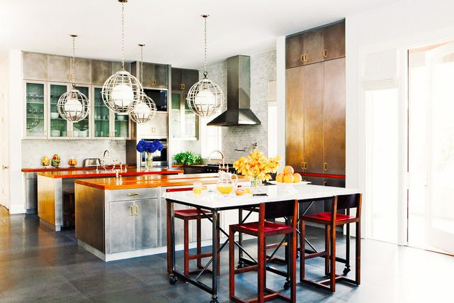 17 gorgeous rooms where lighting steals the show mydomaine Nate berkus kitchen design