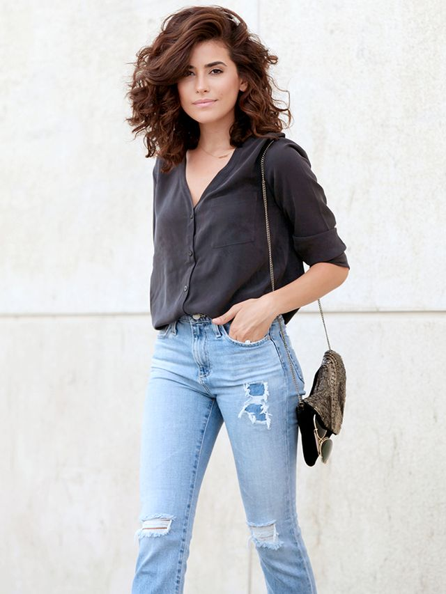 How To Reinvent Your Fall Denim Game Like An It Girl Whowhatwear Uk
