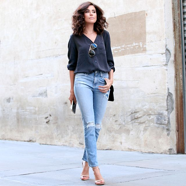 How to Reinvent Your Fall Denim Game Like an It Girl