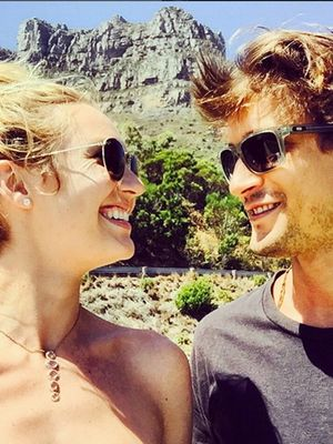 Get a First Glimpse at Candice Swanepoel's Engagement Ring
