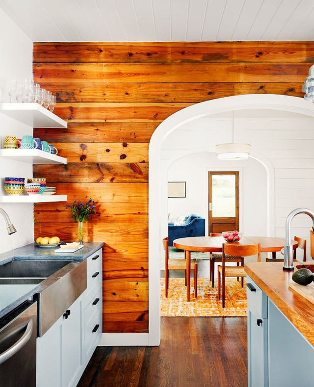 Pine Accent Wall: This Is Happening: Shiplap Walls