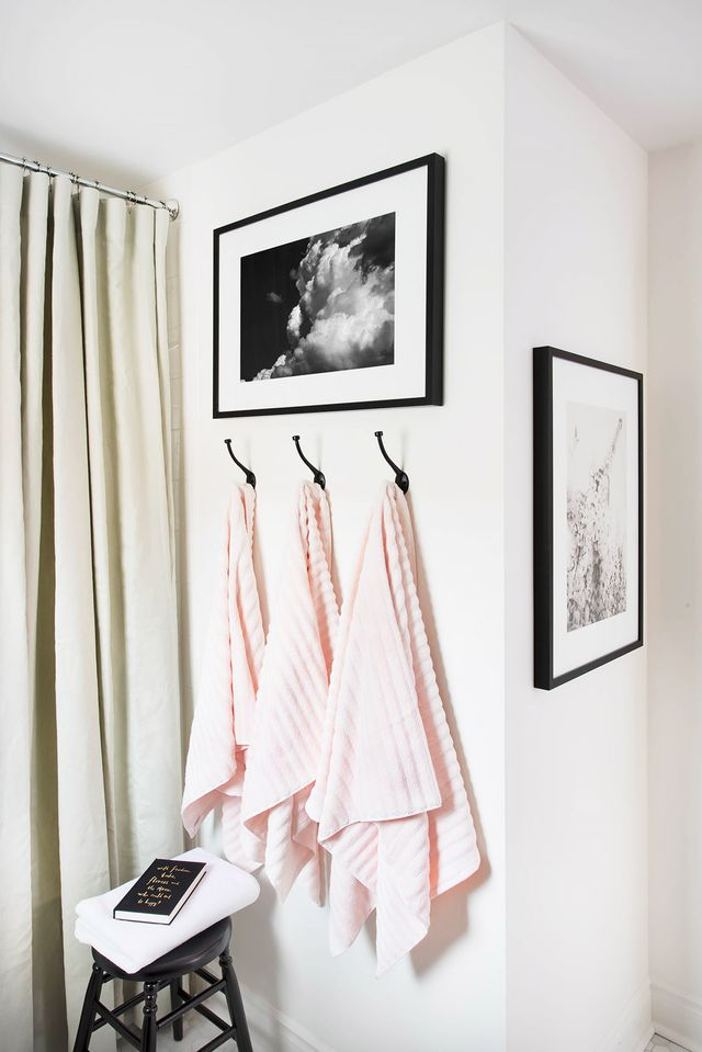 """Thinking about tackling a bathroom renovation of your own? Francis advises perusing Pinterest and décor sites to help determine your style and """"what you truly love."""" Then, she..."""