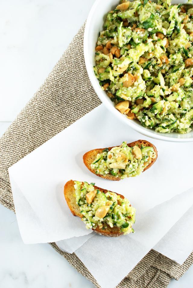 Zucchini Crostini