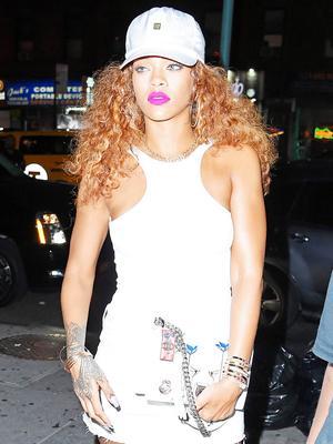 Rihanna Schools Us in High-Low Dressing
