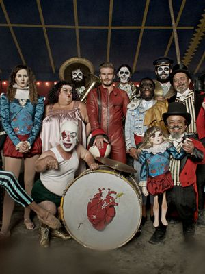 David Beckham Stars in Fashion Freak Show Film