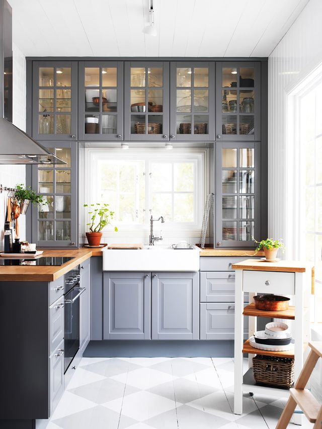 Warm Gray Kitchen