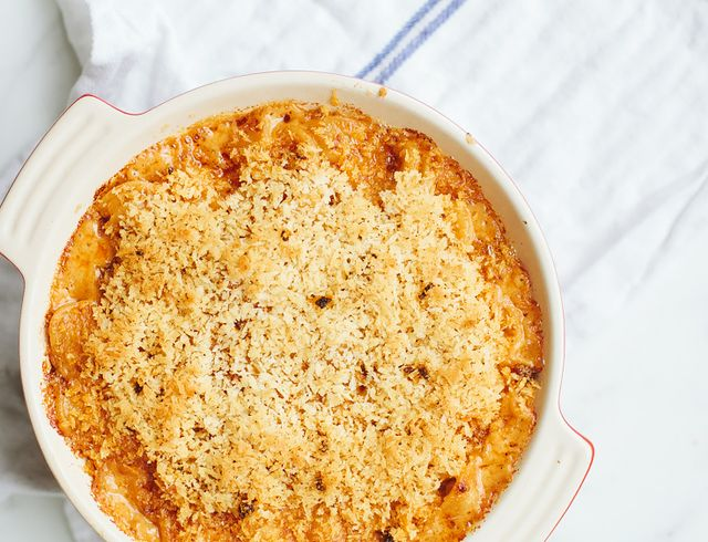 Easiest-Ever Mac 'n' Cheese + Panko Breadcrumbs