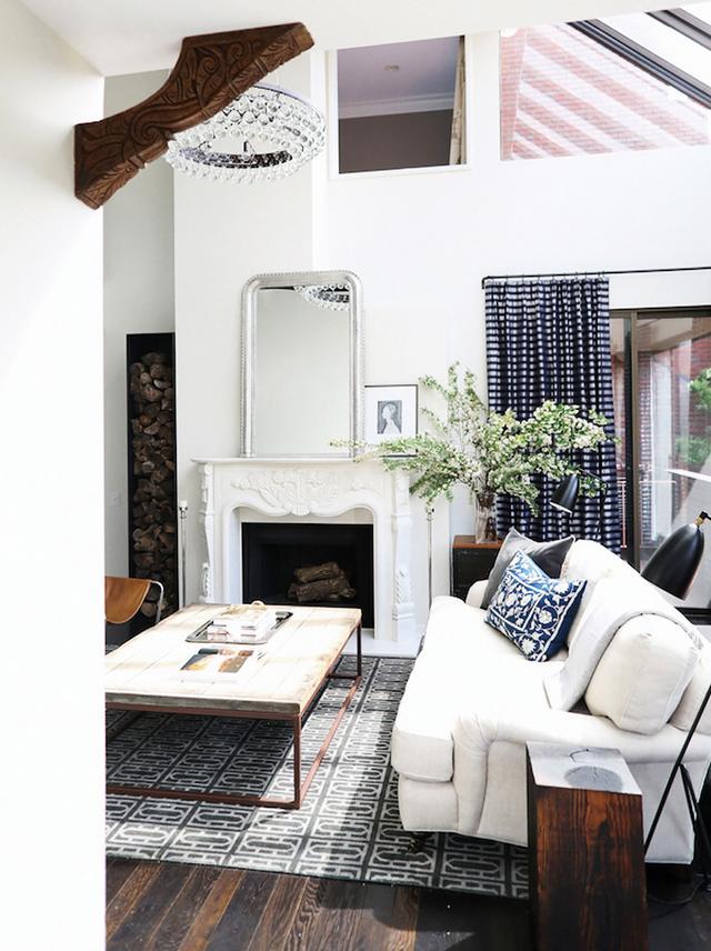 Light-Filled Living Room