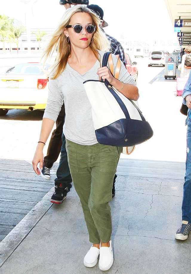 The Comfy Shoes Celebs Wear to the Airport
