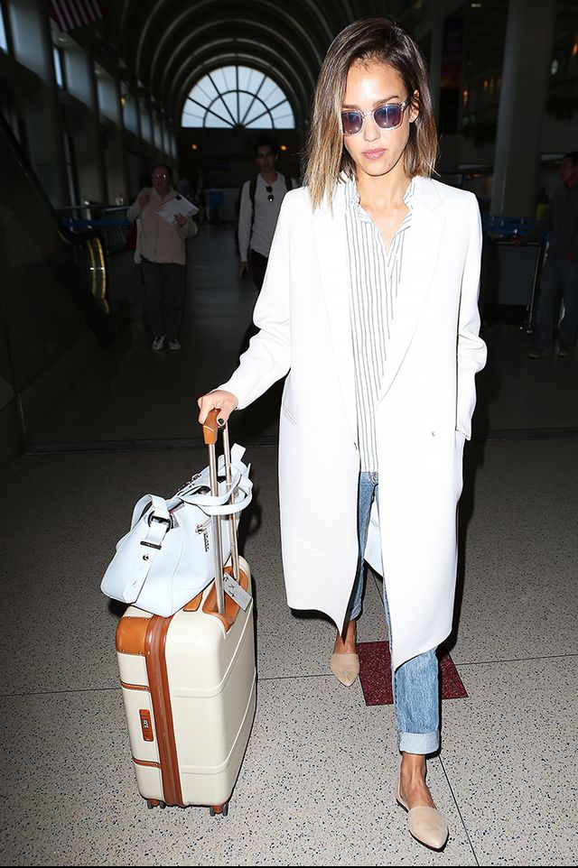 The Comfy Shoes Celebs Wear To The Airport Whowhatwear Au