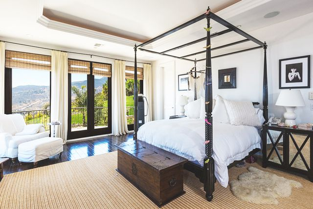 The six-bed, seven-bathroom home exudes warmth and charm. The chef's kitchen, perfect for a home-cooked meal (or Chinese food on Chrismukkah), opens to a breakfast area with top-of-the-line...