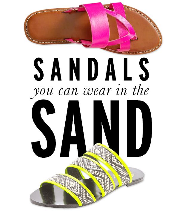 12 Easy-Chic Sandals You Can Wear In The Sand
