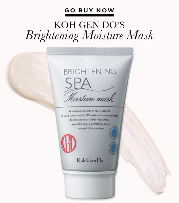 Go Buy Now: Koh Gen Do's Brightening Moisture Mask