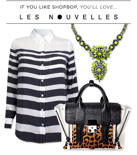 If you like Shopbop, you'll love Les Nouvelles.