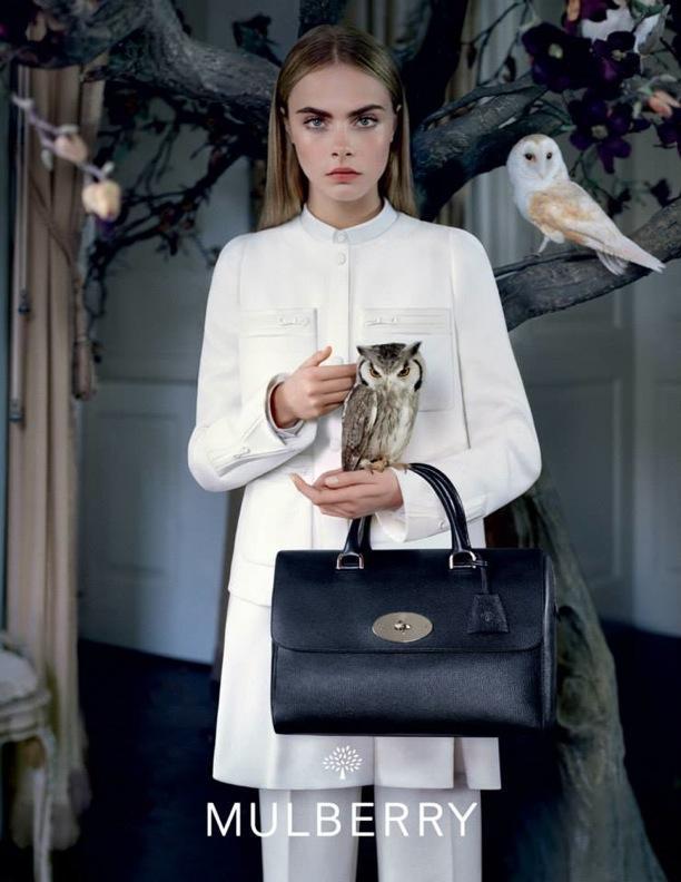 Cara Delevingne | Mulberry F/W 2013 Campaign