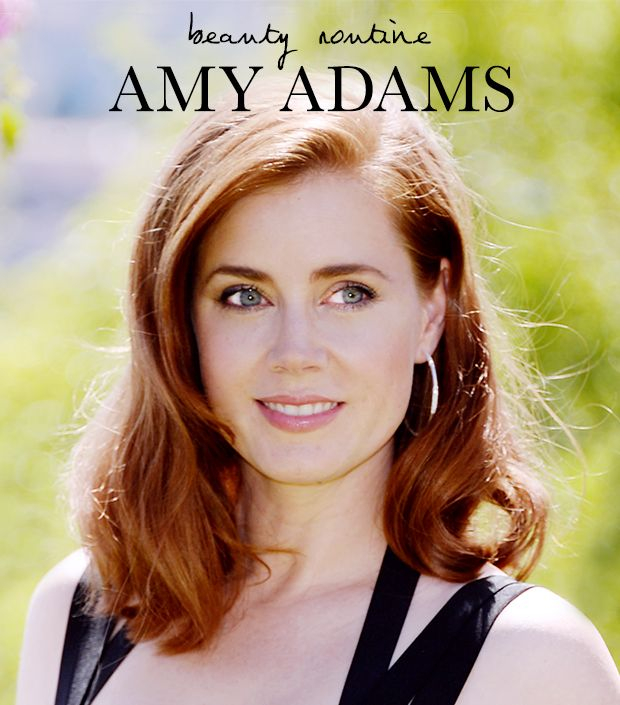 Amy Adams' Beauty Routine